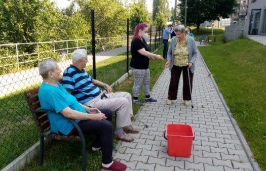 Sportovní hry v SeniorCentru Plzeň