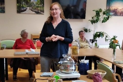 Aromaterapie v SeniorCentru Plzeň